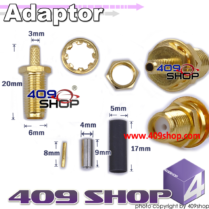 Adaptor SMA-female (1C cable)