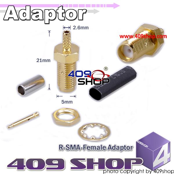 RP-SMA-female 1.5mm Adaptor