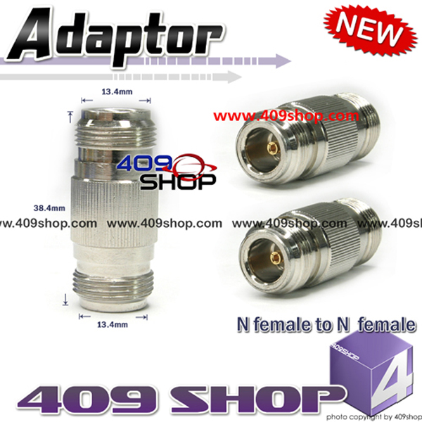 N- female to N-female RF ADAPTOR i-Join