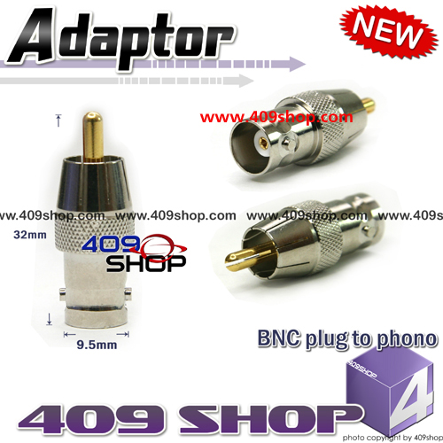 BNC plug to phono S101