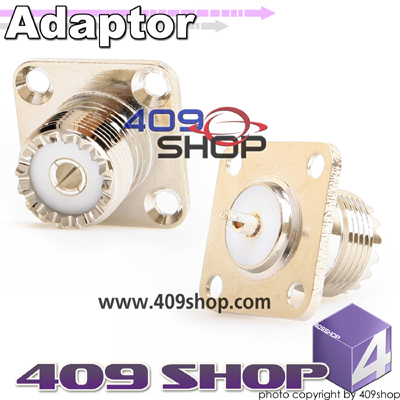 SO-239 Adapter Adaptor Connector Panel Jack