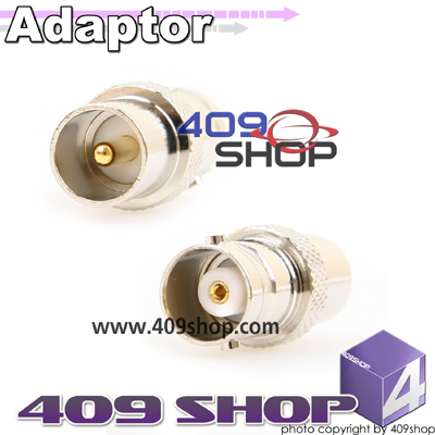BNC female jack to PAL DVB-T TV male plug RF adaptor