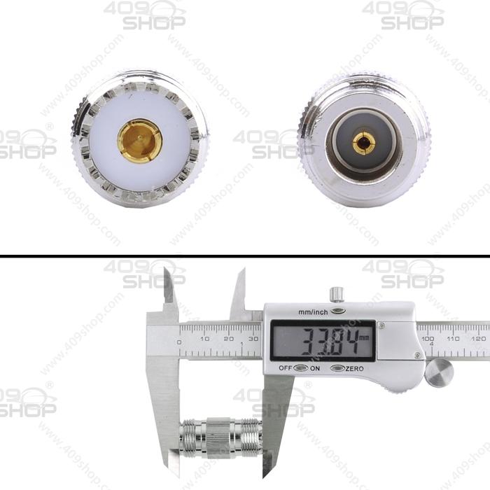 N Female to SO239 RF Adaptor