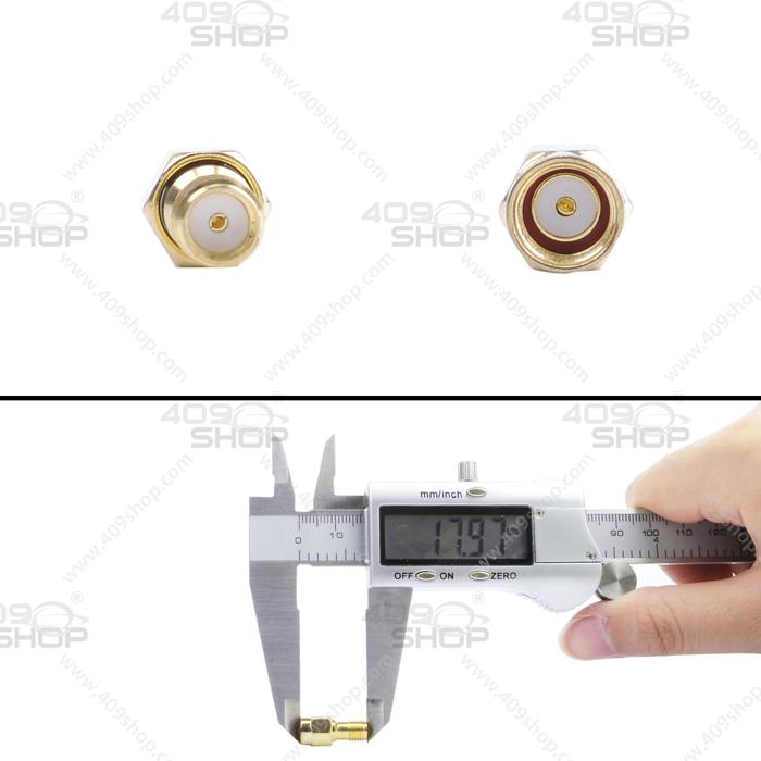 SMA Female outer screw hole to RP-SMA male internal screw hole RF Adaptor