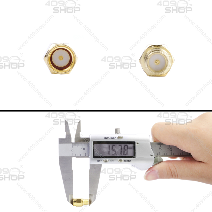 SMA Female to RP-SMA male internal screw needle RF Adaptor