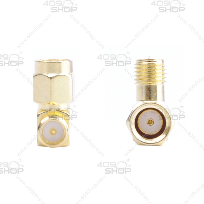 90° SMA Female to RP-SMA male RF Adaptor