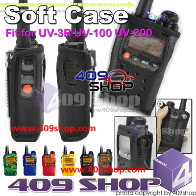 Softcase for BAOFENG UV-3R UV100 UV200 without belt