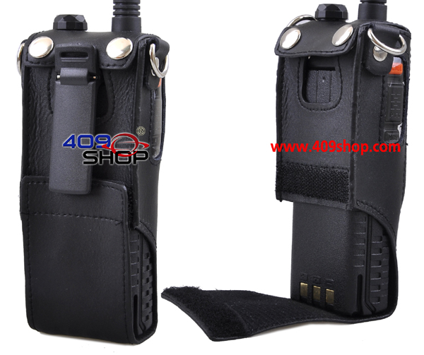 LEATHER EXTENDED SOFT CASE WITH BELT FOR UV-5R