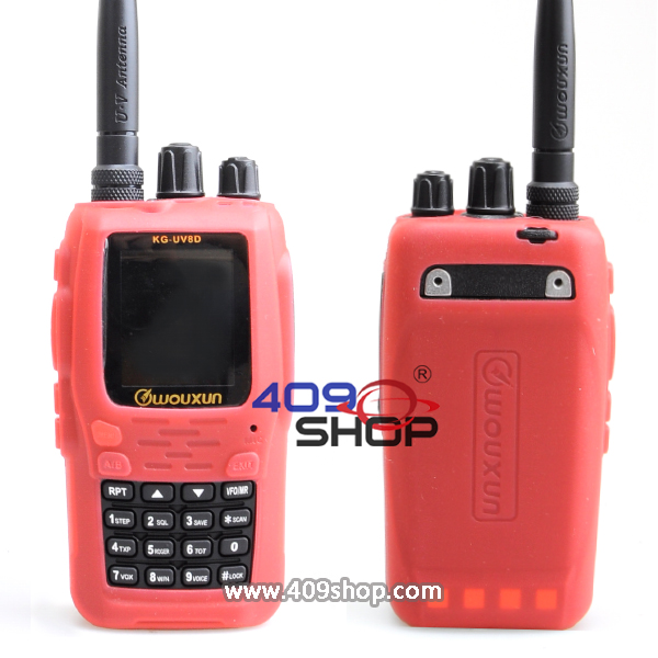 WOUXUN KGUV8D (RED) Plastic Case FOR KG-UV8D