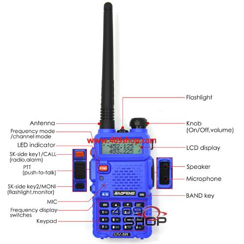 UV-5R Blue