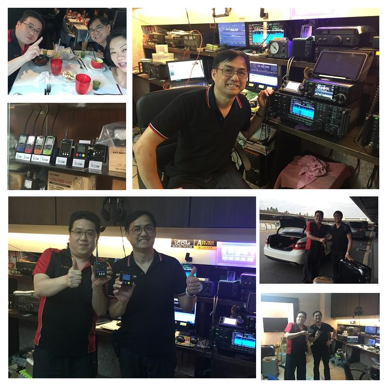409shop is Director visits Taiwan Dealer
