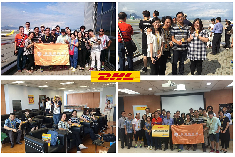 409 Shop Ltd Visit DHL Central Asia Hub in Hong Kong