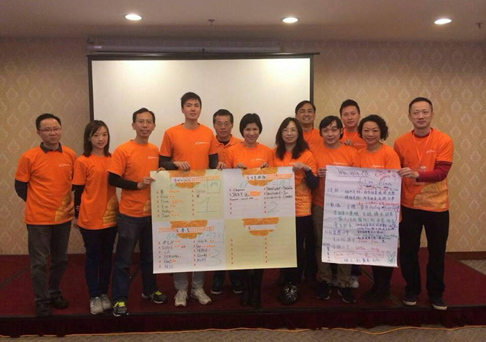 2015 Our Staff traning by Alibaba