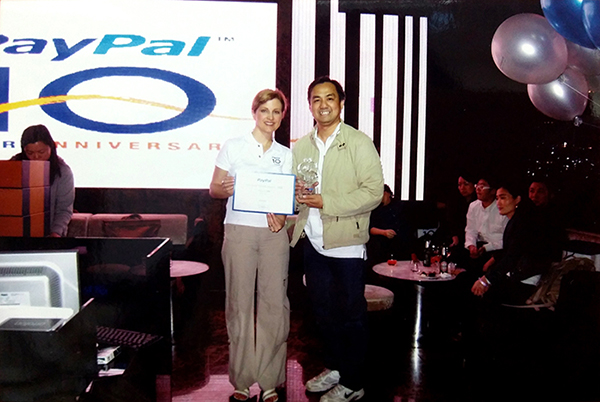 PayPal Asia Pacific 2008 Top Seller Growth Award